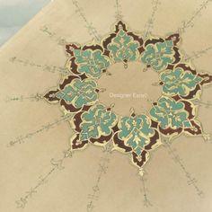 Introduction to the Traditional Art of Persian Illuminations مقدمة لفن التذهيب التقليدي الإيراني — Designer Esra