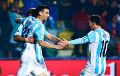 Messi's Argentina Crush Paraguay, Enter Final
