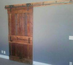 Another great looking door hung...this is OUR DOOR!  Thanks Chris. We love it