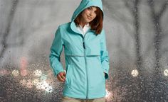 Look and feel good with the right rainy day jacket.