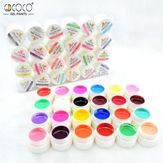 #20204 CANNI Output Nail Art Gel Paint Color 36 gdcoco UV Gel Nails Kit