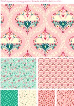 Swan Collection by Brenda Michelle Sutton, via Behance