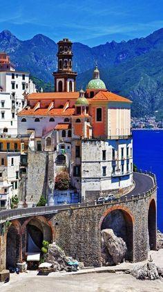 Mind blowing view of Atrani, Amalfi coast! #Amalficoast #Island #Italy
