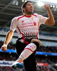 El muelas, Luis Suárez, Liverpool FC.