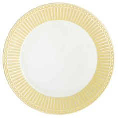 GreenGate Alice Pale Yellow Plate 23cm