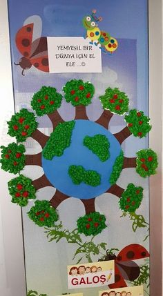 Protect the Forests Earth Day Projects, Earth Day Crafts, Art Projects, Projects To Try, Earth Day Activities, Preschool Activities, Diy And Crafts, Crafts For Kids, Paper Crafts