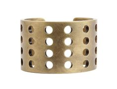 Perforated Cuff by Kelly Wearstler