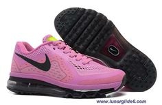 Cheap Womens Nike Air Max 2014 Red Violet Black Pink Glow Light Arctic Pine Shoes
