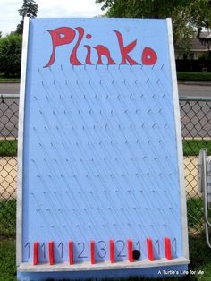 32 Of The Best DIY Backyard Games You Will Ever Play- Plinko!