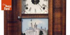 E.N. Welch Manufacturing Co. Shelf Clock, 1864-1880