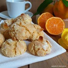 Cookie Recipes From Italy - Useful Articles Italian Cookie Recipes, Italian Cookies, Cake Recipes, Dessert Recipes, Biscuits, Sugar Cookies Recipe, Cannoli, Cute Food, Different Recipes