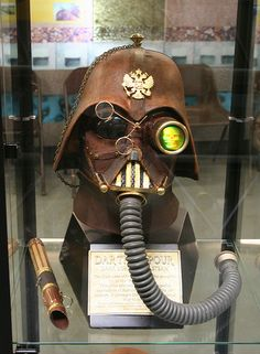 "The famous ""Darth Vapor"" headset"
