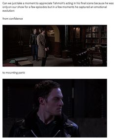 Can we please acknowledge Tahmoh's acting? Click through for full GIFset.