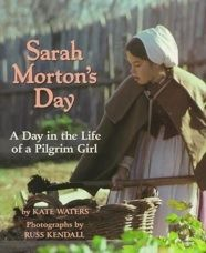Text and photographs of Plimouth Plantation follow a Pilgrim girl through a typical day as she milks the goats, cooks and serves meals, learns her letters, and adjusts to her new stepfather.   974.4 WAT