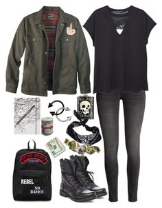 """""""Pick Your Poison"""" by choice-to-be ❤ liked on Polyvore featuring MANGO, Steve Madden, Woolrich, JanSport, Hollywood Mirror, Sourpuss, Go Stationery, ICE London, ...Lost and Local Heroes"""