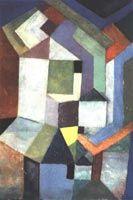 Pious Northern landscape  Paul Klee Paintings & Artwork Gallery in Chronological Order