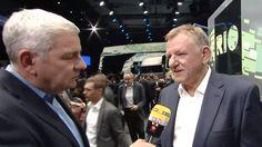 """Innovation für Nutzfahrzeuge: VW-Vorstand Renschler erklärt das System hinter """"Rio""""-Technologie"""