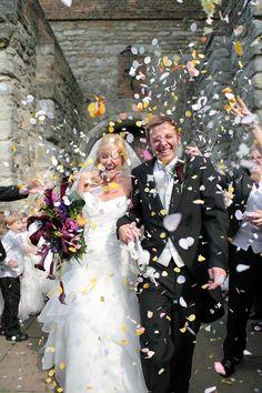 Wedding celebrations photograph at Upnor Castle