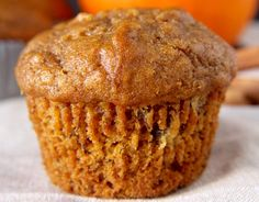 The delicious seasonal pumpkin and banana muffins! - It's a really easy and delicious way to cook pumpkin in the fall! Good little muffins for lunch, - Banana Recipes, Muffin Recipes, Pumpkin Recipes, Fall Recipes, Baby Food Recipes, Dessert Recipes, Brunch Recipes, Pumpkin Banana Bread, Banana Bread Muffins