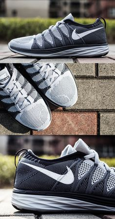 """Why do I always love the shoes only made for Boys.. Nike Flyknit Lunar2 """"Wolf Grey"""""""