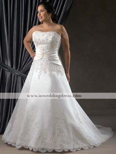 LOVE this.Plus Size Wedding Dresses