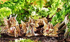 Classic Garden Fairies Price $116.99 http://efairies.com/classic-garden-fairies/