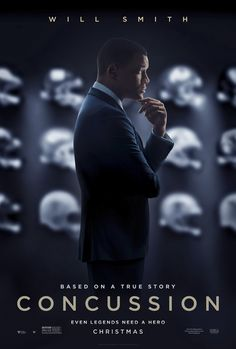 Concussion on DVD March 2016 starring Albert Brooks, Will Smith, Alec Baldwin, Gugu Mbatha-Raw. Will Smith stars in Concussion, a dramatic thriller based on the incredible true David vs. Goliath story of American immigrant Dr. The Smiths, Hd Movies, Movies To Watch, Movies Online, Movies And Tv Shows, Movies Free, Movie Trailers, Film Trailer, Will Smith Films