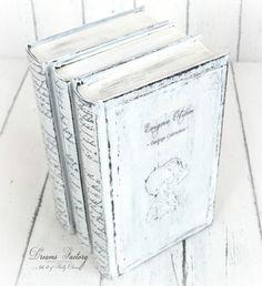 DIY Shabby Decorative Books - Tutorial Carti Decorative Shabby - DREAMS FACTORY