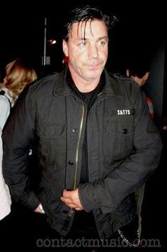 Till Lindemann - so impressed by all the attention...NOT