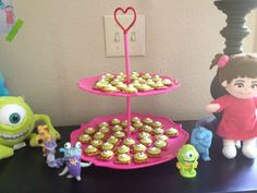 Monsters Inc Boo Birthday Party for Girl | CatchMyParty.com