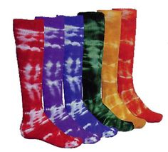 crazy tie-dye socks for gym/running Softball Socks, Softball Gear, Softball Stuff, Cheap Baseball Jerseys, Baseball Games, National Baseball League, Sock Tie, Tie Dye Socks, Baseball Equipment