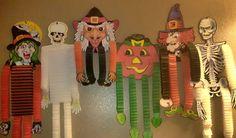 Vintage Halloween cutouts
