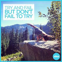 Always try