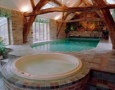 So Cute and Elegant Design of Indoor Swimming Pool Design