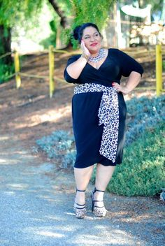 698f5068658 Reviews and Photos of Kiyonna Harlow Faux Wrap Dress