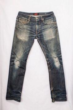 Worn-out projects Photographer Johannes Pace jeans denim Sweden vintage blue LONG JOHN raw japanese denim (5)