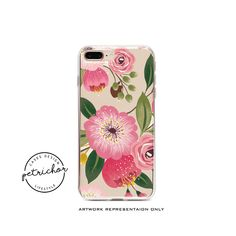 Floral iPhone Case - iPhone 7 Case - iPhone 7 Plus Case - iPhone 6 Case - iPhone 8 Case - iPhone X Case - iPhone 8 Plus Case - Clear by PetrichorCases on Etsy Floral Iphone Case, Iphone 8 Cases, Iphone 8 Plus, Environmentally Friendly Packaging, 6s Plus Case, For Facebook, Vibrant Colors, Print Design, Etsy