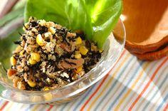 栄養バランスに優れ、必須アミノ酸をすべて含んでいるスーパーフード「キヌア」を使ったヘルシーサラダです。キヌアとヒジキのヘルシーサラダ/増田…