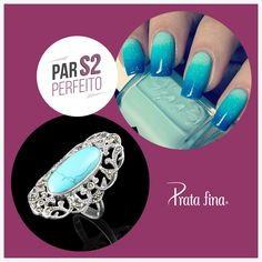 #ParPerfeito: A tranquilidade, serenidade e harmonia do azul.   ~> http://pol.vu/ra