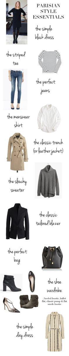 Parisian Capsule Wardrobe,fashion advice, style tips