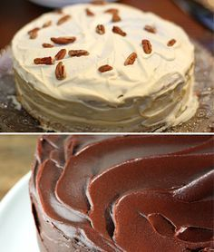 6 rellenos para tartas diferentes No Bake Desserts, Delicious Desserts, Dessert Recipes, Mini Cakes, Cupcake Cakes, Cupcakes, Cake Mix Bars, Cake Decorating For Beginners, Decorating Cakes