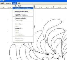 Tutorial  - Designing with Electric Quilt /Geta's Quilting Studio
