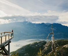 The Chief viewing platform at Sea To Sky Summit and Gondola in Squamish British Columbia  by @jessicasamplegram #onassignment #seatosky #squamish by natgeotravel