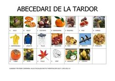 Publishing platform for digital magazines, interactive publications and online catalogs. Title: ABECEDARI DE LA TARDOR, Author: ikoro ikoromi, Length: 1 pages, Published: Bolet, Spanish Teaching Resources, Digital Magazine, Valencia, Homeschool, Photo Wall, Childhood, Language, Author