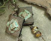 LostTales - Book Earrings