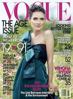 Vogue 2007 - Starting over at 35