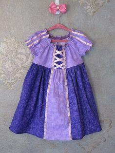 Disney Princess Dress Up Rapunzel - DIY http://kristensilva25.wix.com/minniecorinniecastle#!rapunzel/mainPage