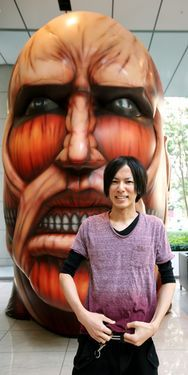 Hajime Isayama, author of Attack on Titan.
