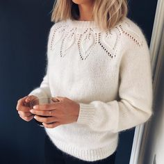 Knitting Designs, Knitting Patterns, Love Knitting, Diy Clothes, Clothes For Women, Mohair Sweater, Knit Fashion, Cute Sweaters, Knitwear