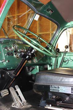 1958 Mack Truck restored inside